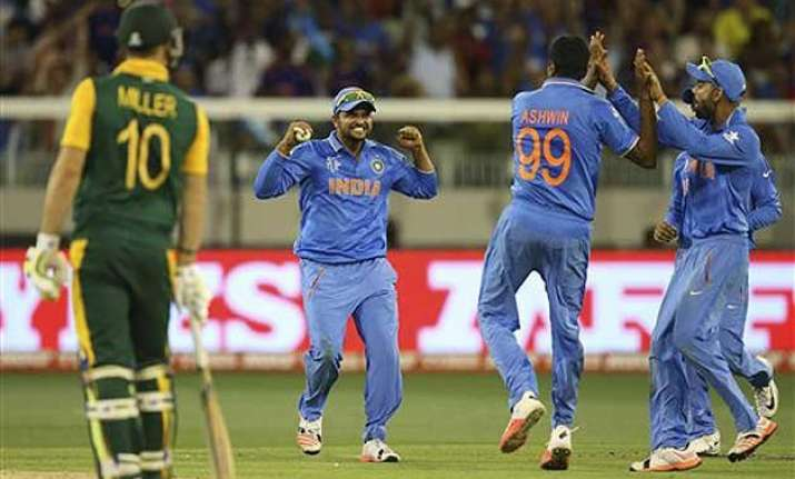 world cup 2015 india aim to make it 3 in a row vs uae