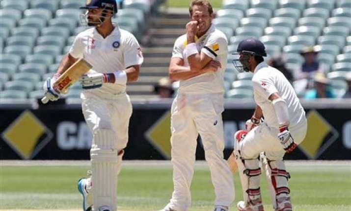 latest updates india 369/5 vs australia at stumps on day 3