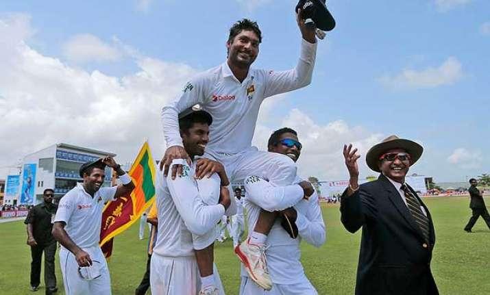 galle gives emotional farewell to kumar sangakkara