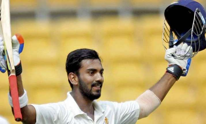 no competition with shikhar and vijay says kl rahul