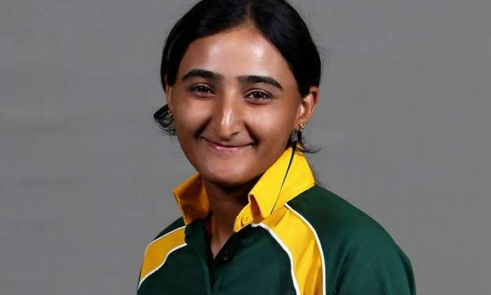 pakistani female cricketer is a fan of virat kohli