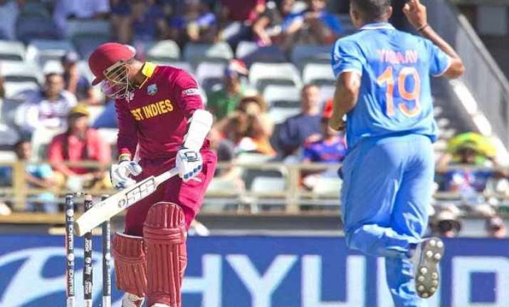 world cup 2015 india vs west indies scoreboard match 28