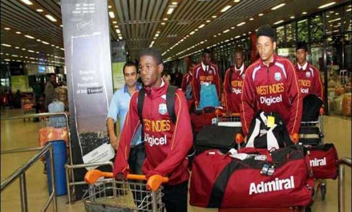 west indies to begin training for youth cricket world cup