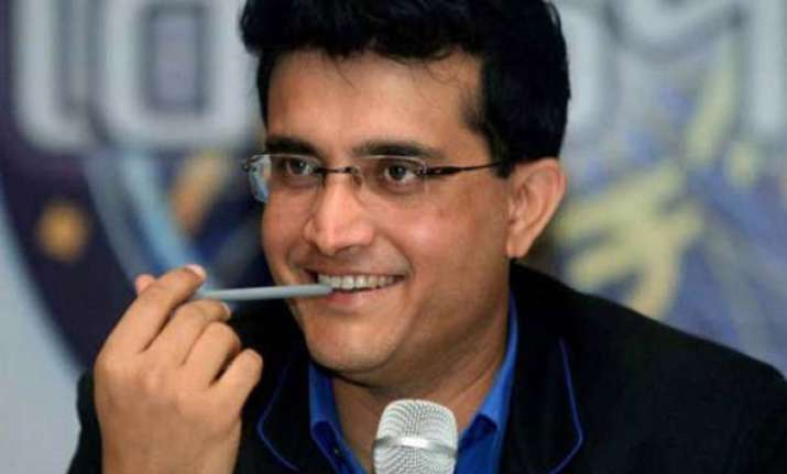 sourav ganguly in race for team india s coach