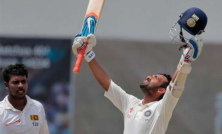 2nd test day 4 rahane ton leads the way for india