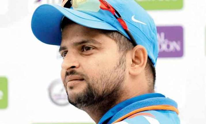 suresh raina rested from zimbabwe tour after lalit modi s