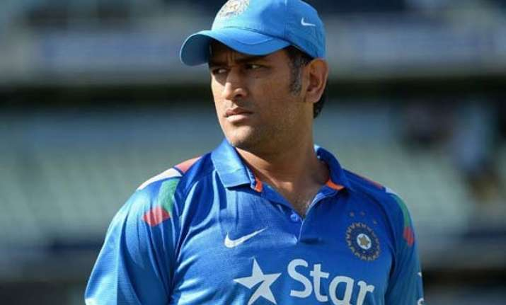 all eyes on ms dhoni as team india begin odi series against