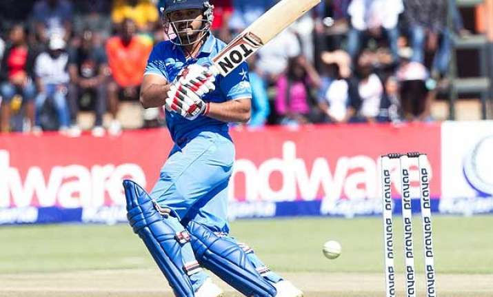 ind vs zim ton up kedar jadhav guides india to 276/5