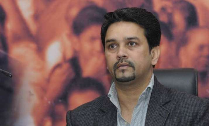 no indo pak series scheduled in 2016 anurag thakur