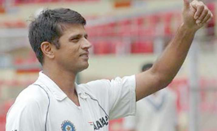 dravid says there 1st test will have a result
