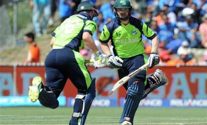 world cup 2015 ireland wins toss bats 1st vs pakistan