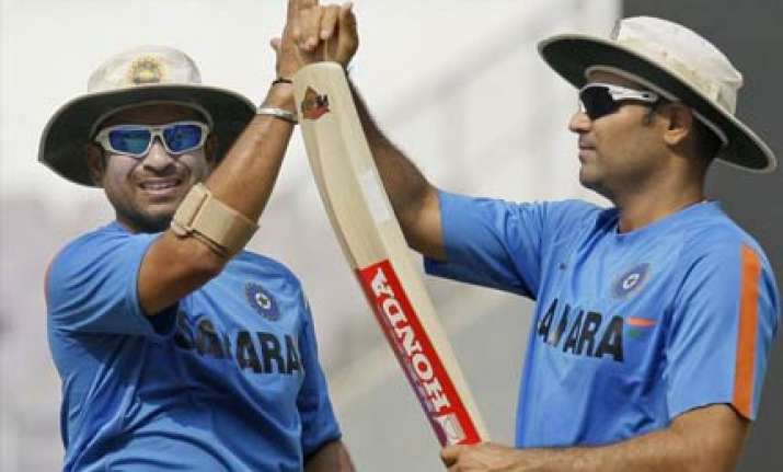 sehwag can outdo sachin s 200 in odi says bopara