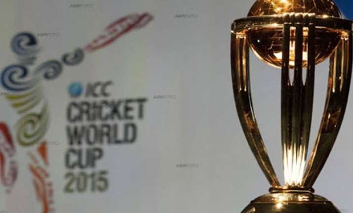 cricket world cup trophy tour reaches gurgaon