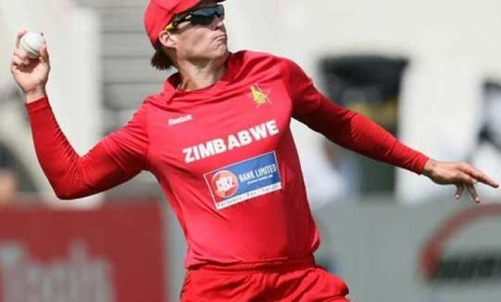 zimbabwe off spinner suspended from bowling