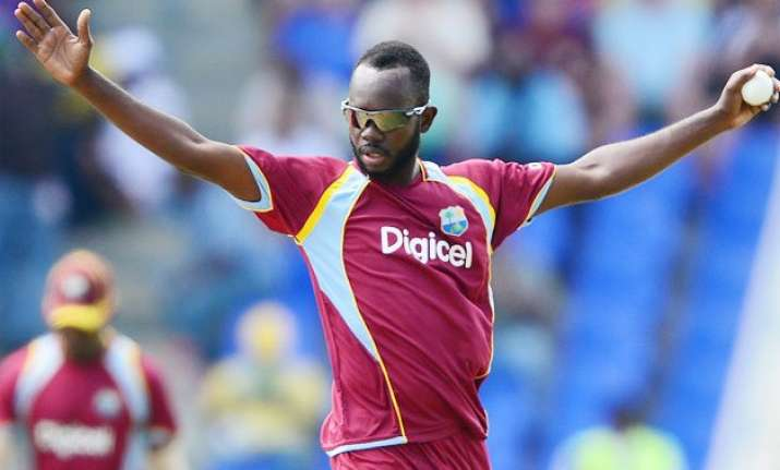 world cup 2015 nikita miller replaces narine in west indies