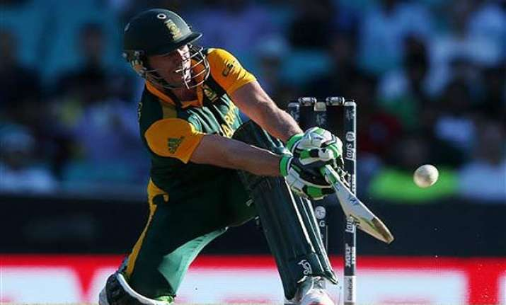 a.b. de villiers hits maximum sixes in a world cup