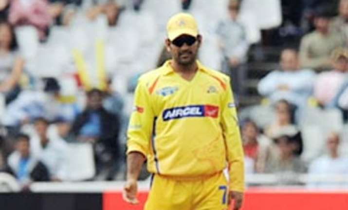 dhoni out of action for 10 days raina to lead csk