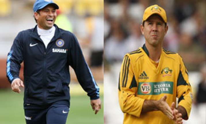it would be nice if sachin retires some time says ponting