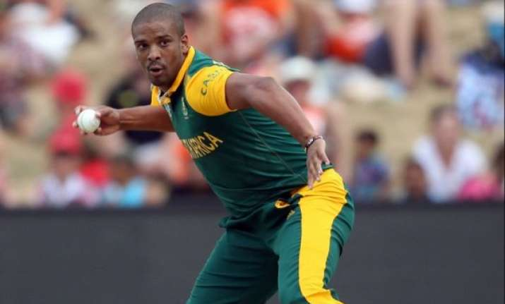 world cup 2015 philander ruled out of south africa s next