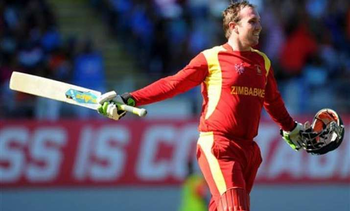 world cup 2015 taylor hits 138 in farewell innings zimbabwe