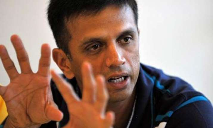 don t really like current world cup format dravid