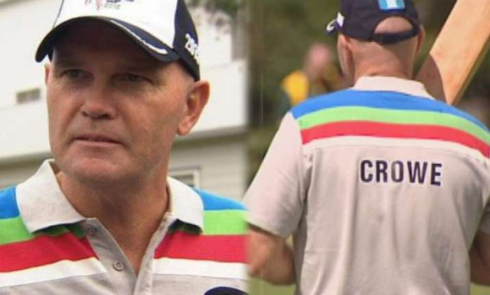 watch cancer stricken martin crowe s final innings at his