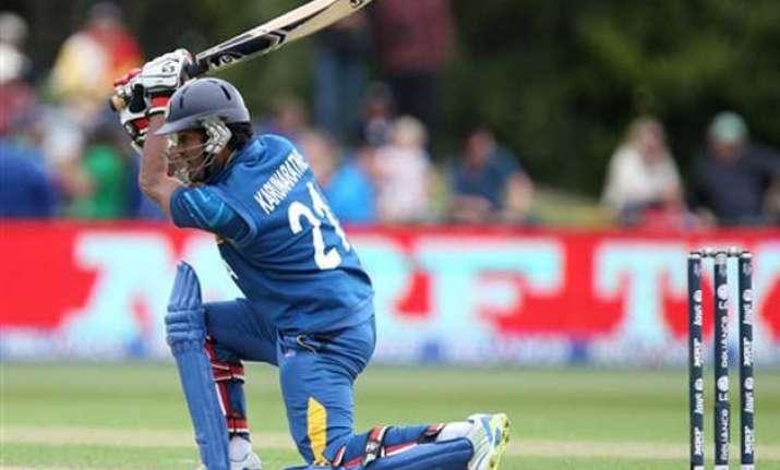 world cup 2015 sri lanka wins toss opt to bat 1st vs