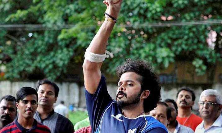 after exoneration cricketer sreesanth takes to nets