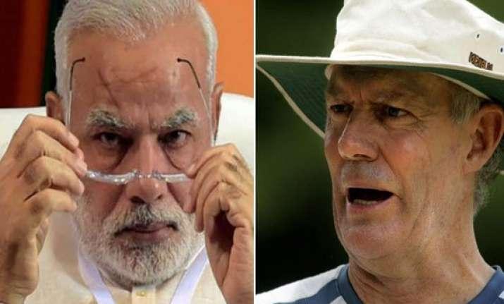FICTION! PM Narendra Modi reaches Australia to settle scores