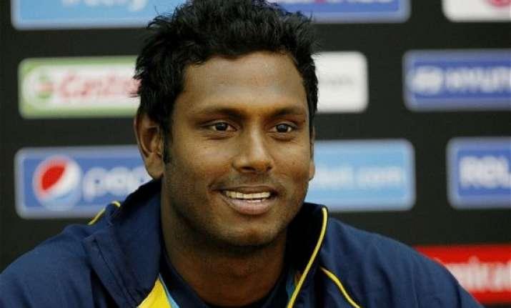 it s a tough tour says sri lankan captain angelo mathews