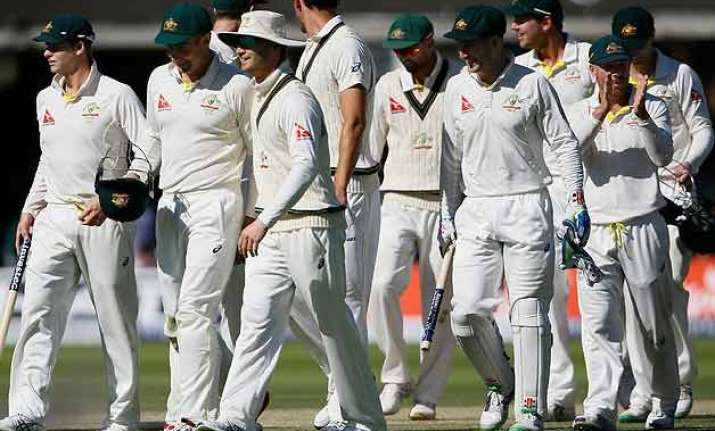 ashes australia crush england in 2nd test to level series