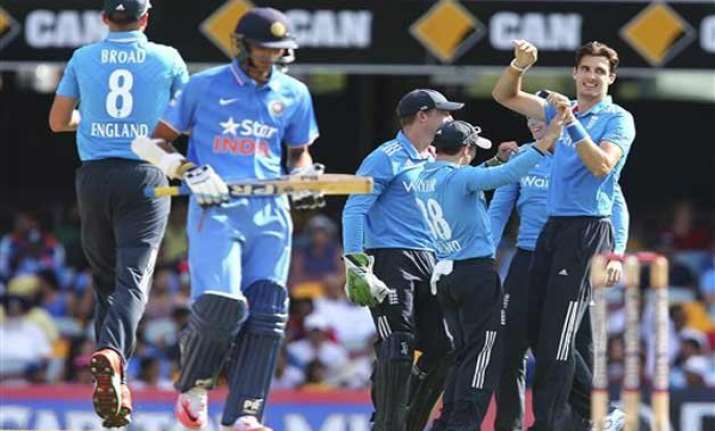 tri series 2015 india bowled out for 153 in third odi vs