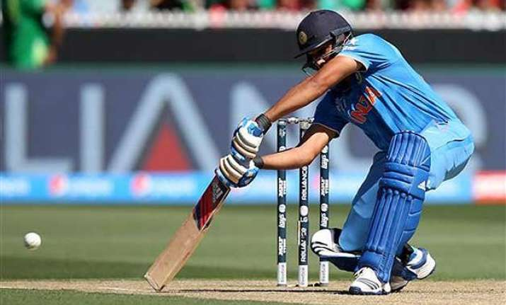 rohit was a waste of talent four years back dhoni