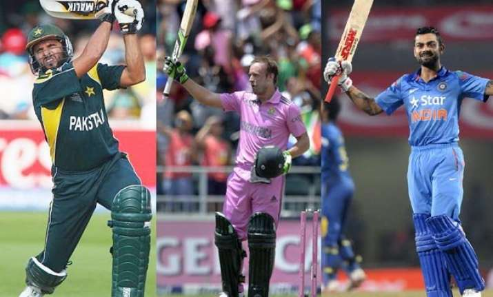 know the top 10 batsmen with fastest odi tons
