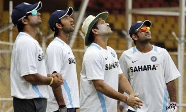 rain may play spoilsport in nagpur test