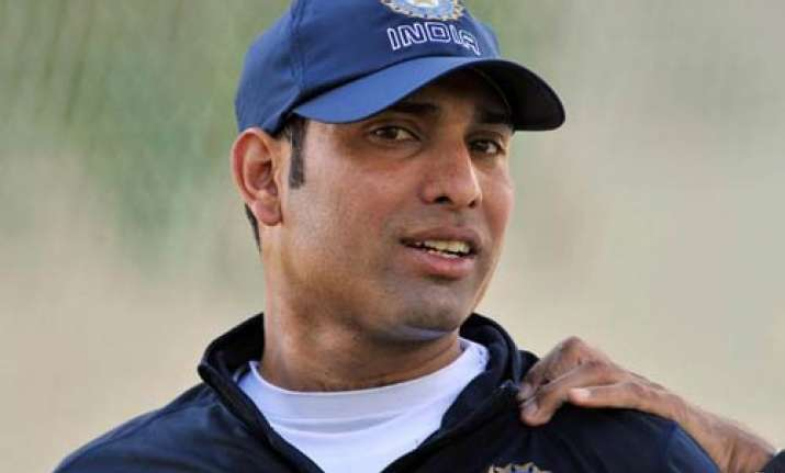 second nz test will be laxman s first at home