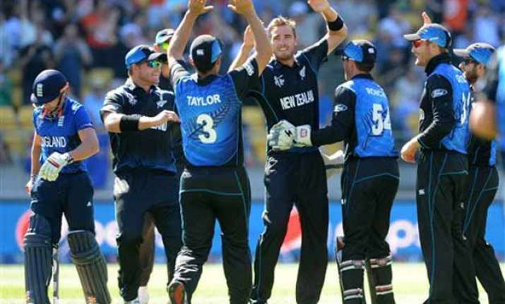 world cup 2015 southee takes 7 as nz dismisses england for
