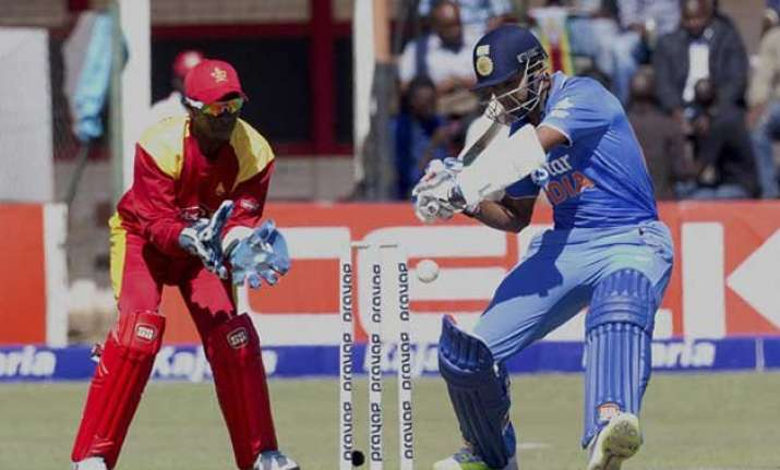 2nd odi zimbabwe wins toss opt to bowl against india