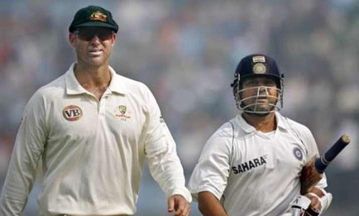 infatuated aussies bought copies of sachin s bat hayden