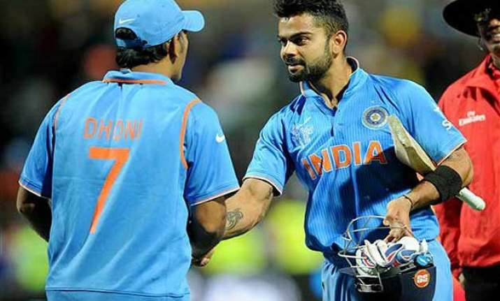 world cup 2015 virat kohli is a big occasion player says ms