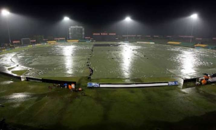 nz sl match called off due to rain for second consecutive