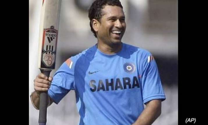 cricket should head in the right direction tendulkar