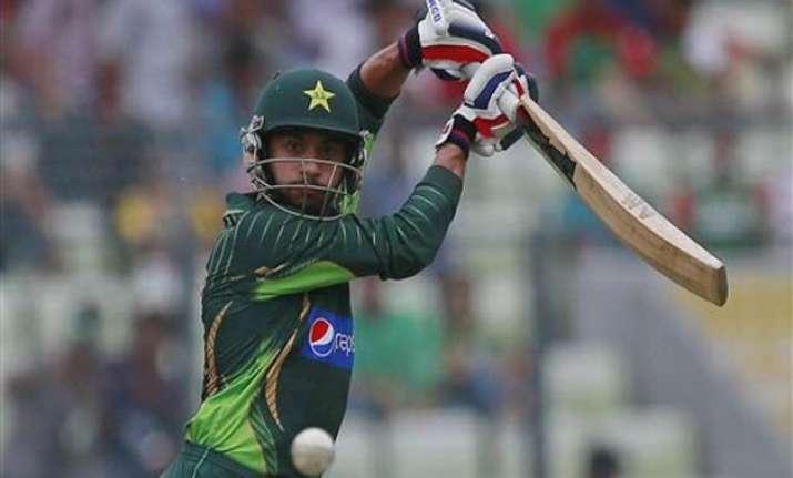 ban vs pak pakistan recovers to score 239 6 vs bangladesh