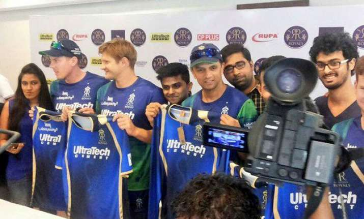is new jersey bringing good luck for rajasthan royals