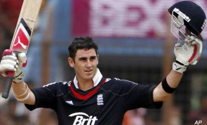 england sweep series after kieswetter s maiden ton