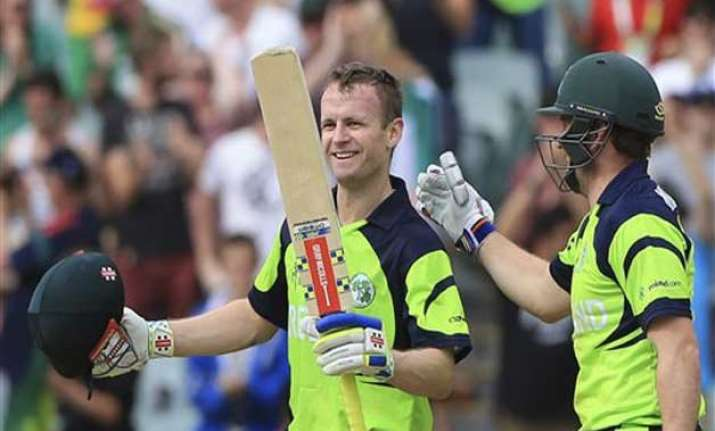 world cup 2015 porterfield century takes ireland to 237 vs