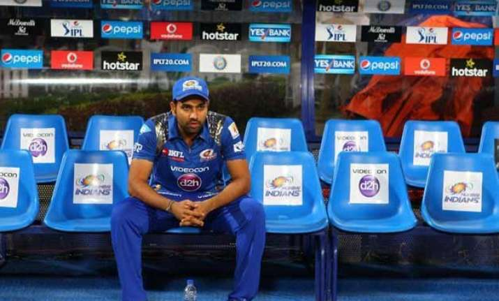 ipl 8 don t regret missing out on century says rohit