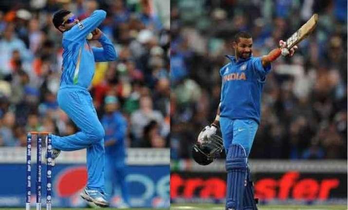 world cup 2015 spotlight on shikhar jadeja as india fret on