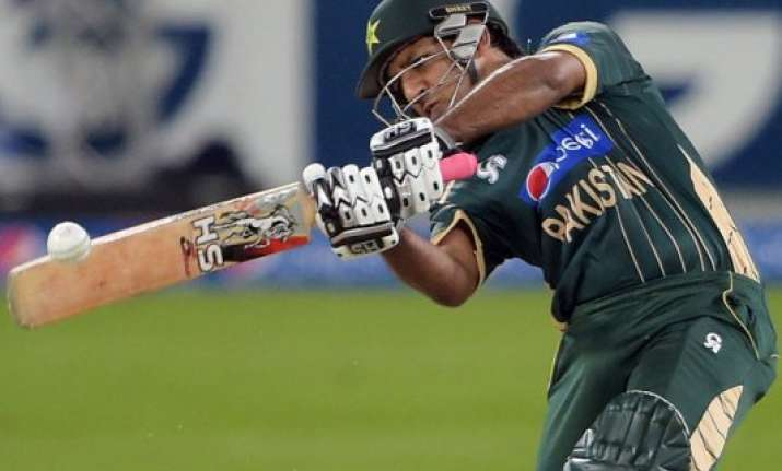ahmed smashes 76no in pakistan 7 wicket t20 win