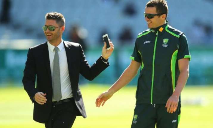 michael clarke impressive in channel 9 commentary debut